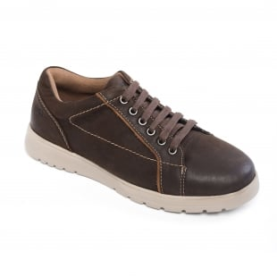 Padders React Brown Shoes