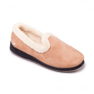 Padders Repose 406 Ee Fit Camel Slippers
