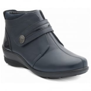 Padders Shirley 566 Navy Boots
