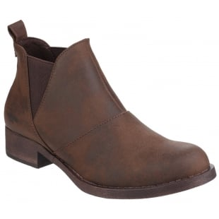 Rocket Dog Castelo Gusset Brown Boots