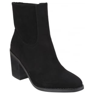 Rocket Dog Dannis Zip Up Black Boots