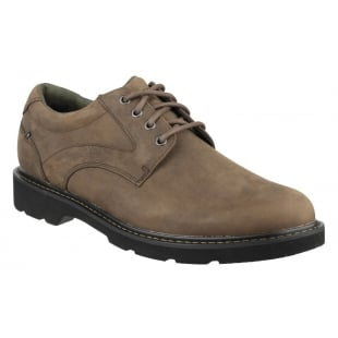 Rockport Charlesview Lace Up Brown Shoes