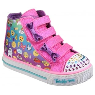 Skechers Twinkle Toes: Shuffles Chat Time Multi Girls