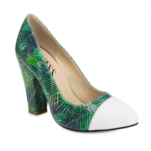 Yull Beaulieu Green Multi Shoes