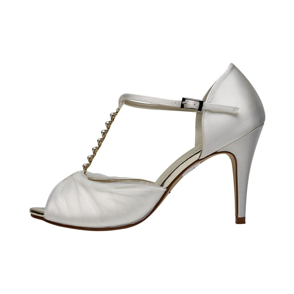 bb1bf6783f96 Rainbow Club Adrianna Ivory Satin   Italian Tulle Sandal - Shoes.co.uk