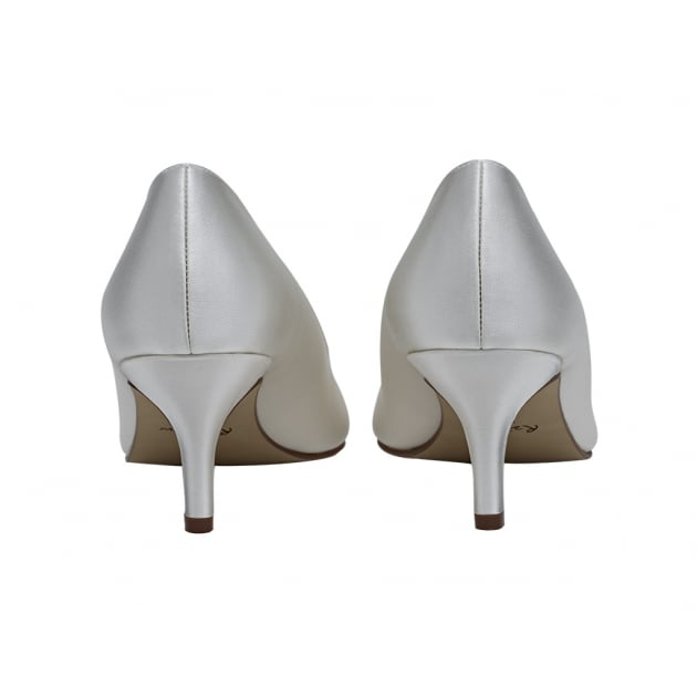 Rainbow Club Elizabeth Ivory Sweetheart Throat Court Shoes