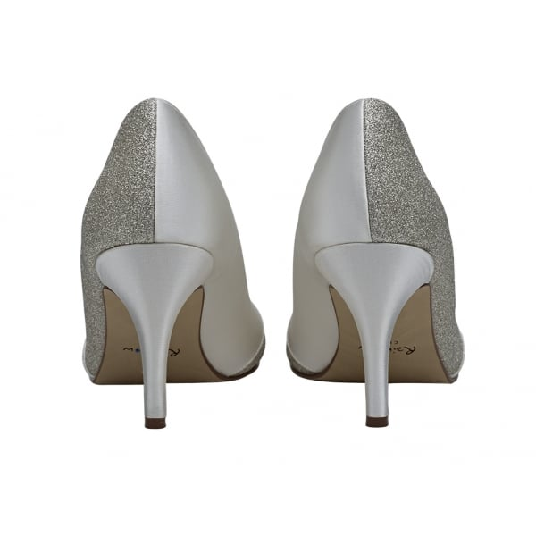 Womens Wide Fit Ivory Court Shoes