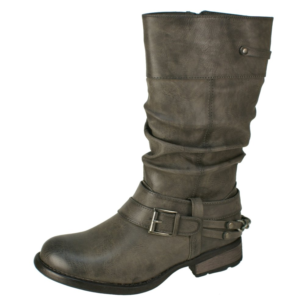 rieker 97258 45 s grey boots free delivery at