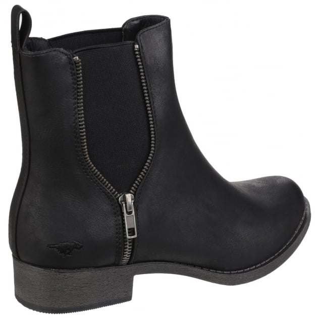Rocket Dog Camilla Gusset Black Boots