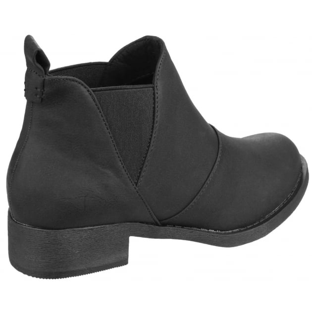 Rocket Dog Castelo Gusset Black Boots