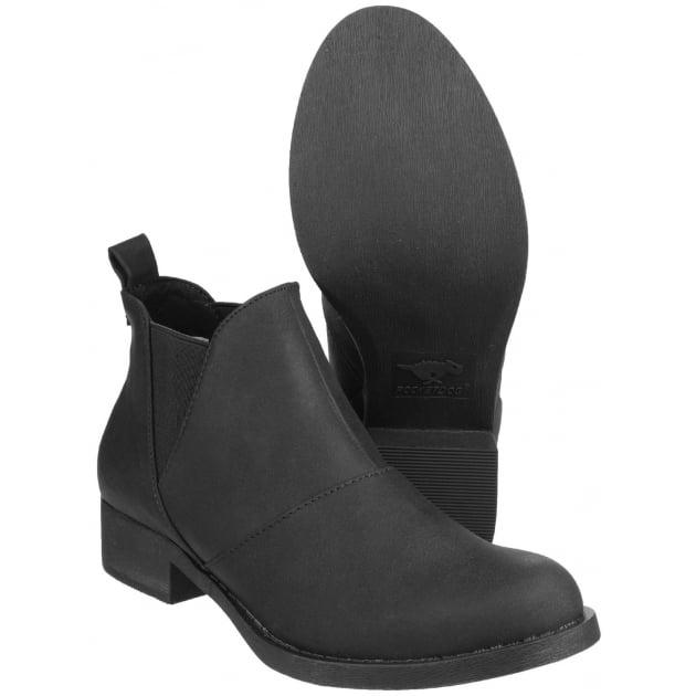 Castelo Gusset Black Boots