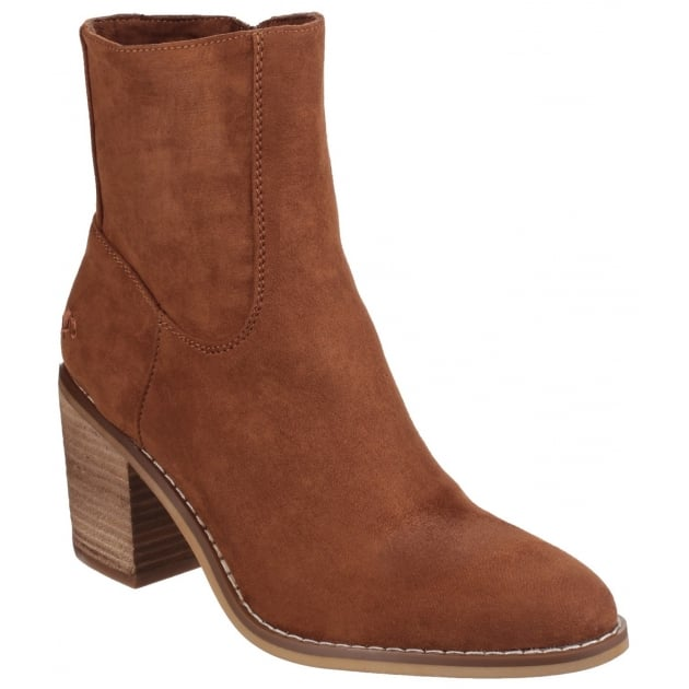Rocket Dog Dannis Zip Up Cinnamon Boots
