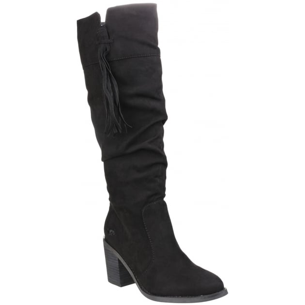 Rocket Dog Day Zip Up Black Boots