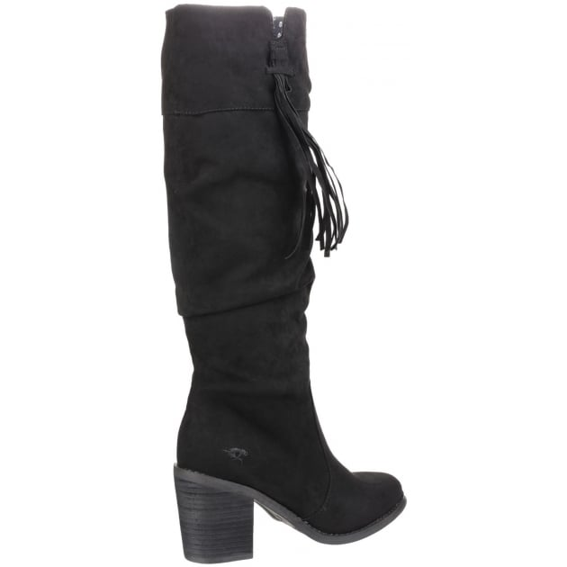 Day Zip Up Black Boots