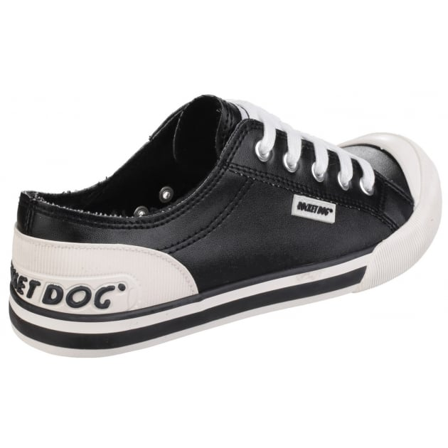 Rocket Dog Jazzin Lace Up Black Sneakers