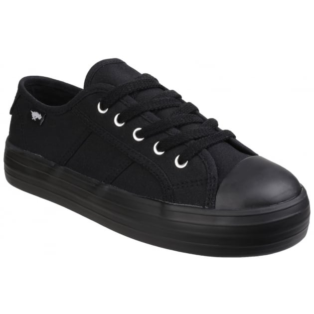 Rocket Dog Magic Lace Up Black Shoes