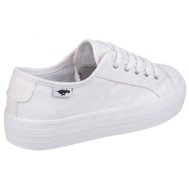 Rocket Dog Magic Lace Up White Shoes