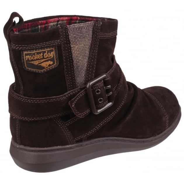 Rocket Dog Mint Pull On Tribal Brown Boots