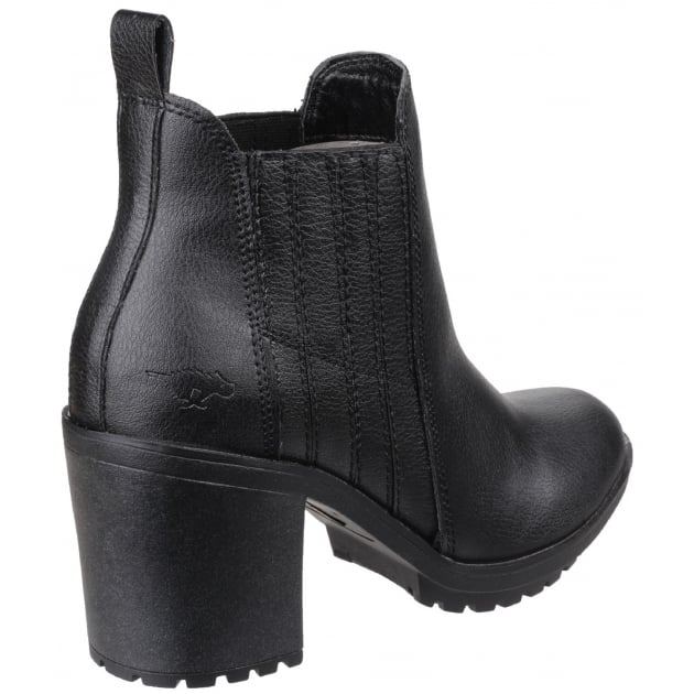 Rocket Dog Raegan Gusset Black Boots