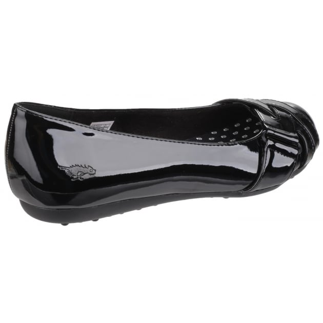 Rocket Dog Rebel Slip On Black Shoes