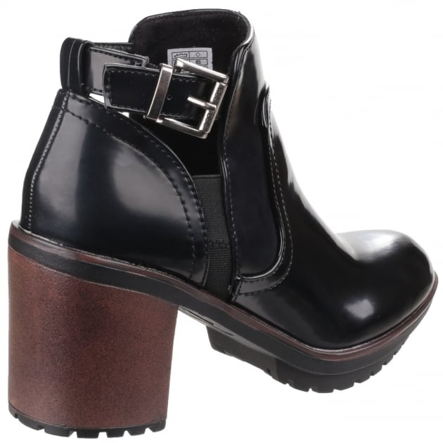Rocket Dog Reese Buckle Fastening Black Boots
