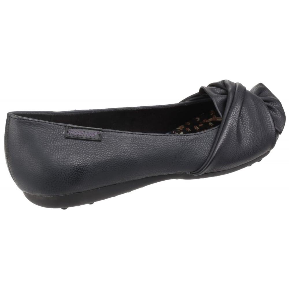 ... Rocket Dog Risky Slip On Black Shoes ...