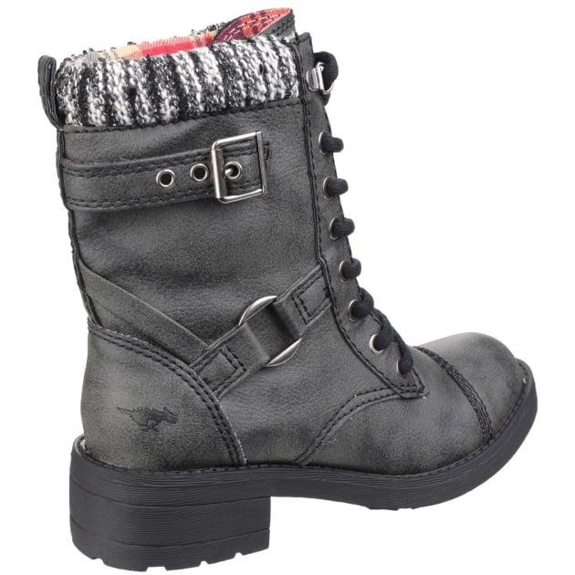 Rocket Dog Thunder Lace Up Black Boots