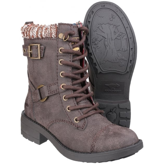 Rocket Dog Thunder Lace Up Brown Boots