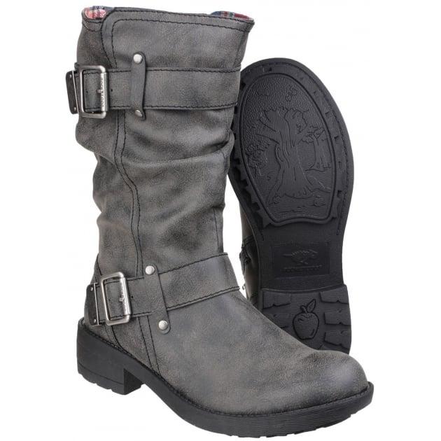 Rocket Dog Trumble Zip Up Black Boots