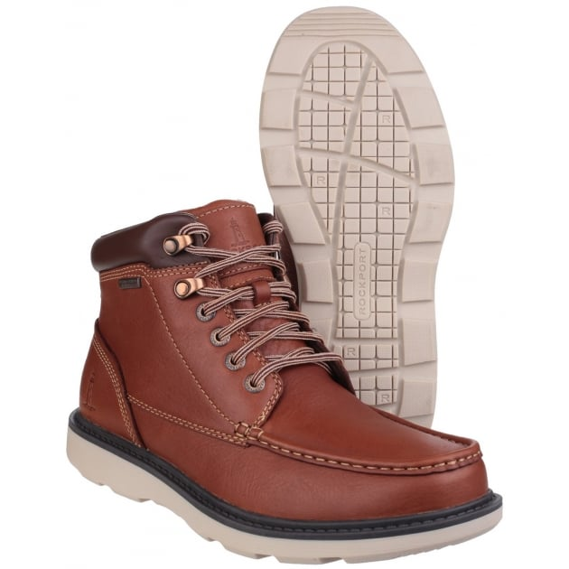 Rockport Boat Builders Moc Toe Lace Up Harves Boots