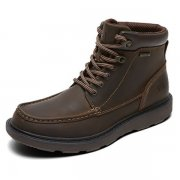 Rockport Boat Builders Waterproof Moc Toe M78452 Dark Brown Boots