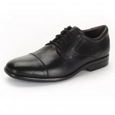 Rockport Business Lite Cap Toe K73321 Black Shoes