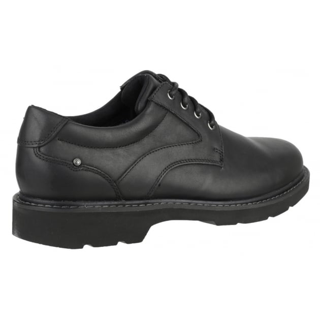 Rockport Charlesview Lace Up Black Shoes