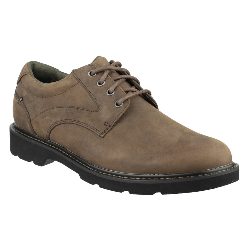 rockport charlesview lace up s brown shoes free
