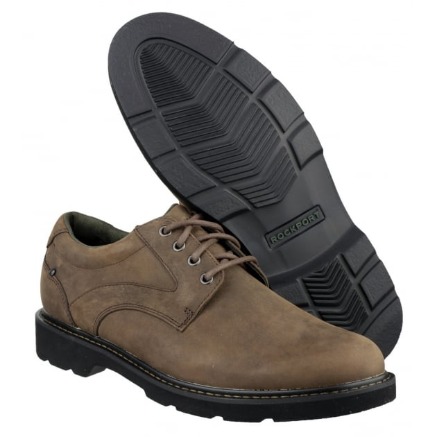 Charlesview Lace Up Brown Shoes