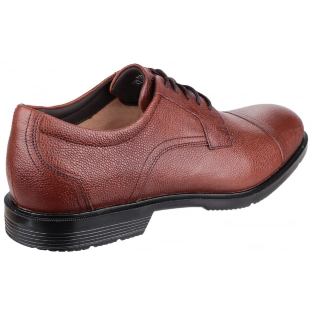 Rockport City Smart Cap Toe Tan Shoes