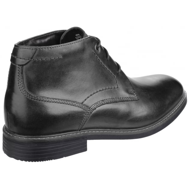Rockport Classic Break Lace Up Chukka Black Boots