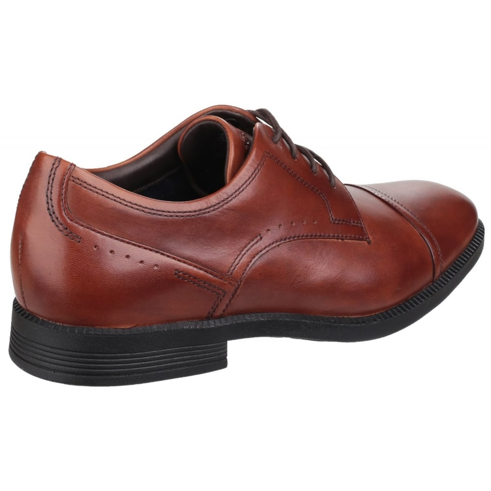 ... Rockport DresSports Modern Cap Toe Lace Up Brown Shoes ...