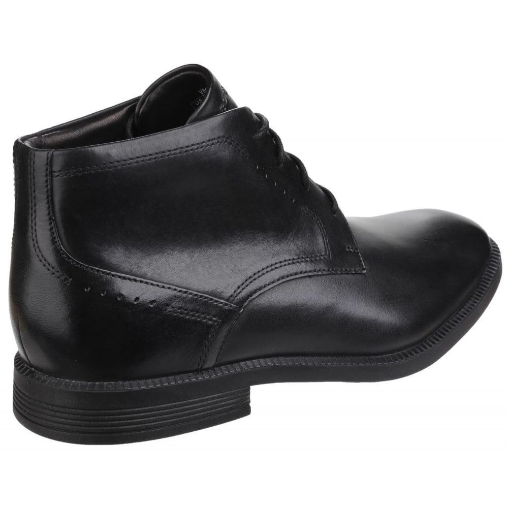 Modern chukka lace up men s black boots free returns at shoes co uk
