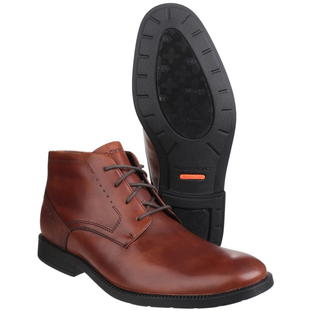 rockport dressports modern chukka lace up s brown