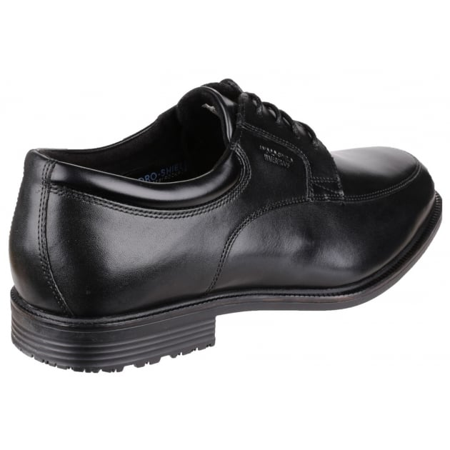 Rockport Essential Details Waterproof Apron Toe Black
