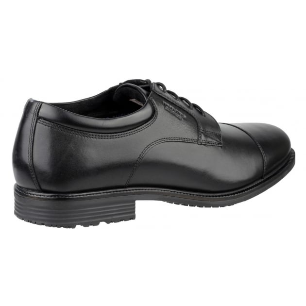 Rockport Essential Details Waterproof Cap Toe Black