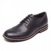Rockport Ledgehill 2 Wingtip Oxford A12443 Black Shoes