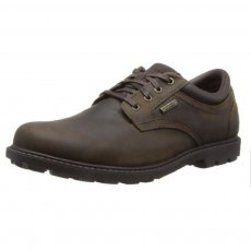 Rockport Rugged Bucks Waterproof V74354 Dark Tan Shoes