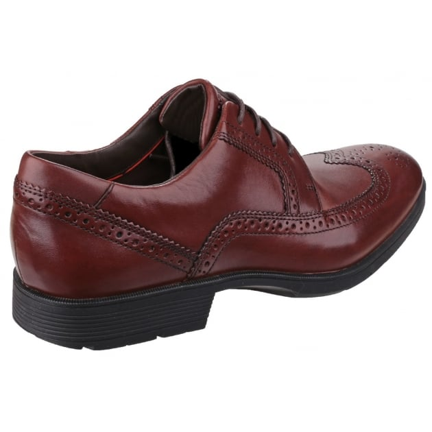 Rockport Total Motion Performance Stability Wingtip Chilli Shoes