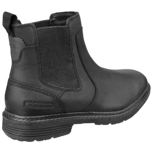 Rockport Urban Retreat Zip Up Chelsea Boots Black