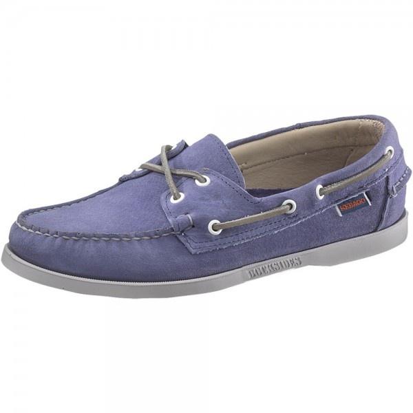 92f305f8 Sebago Docksides B720007 Dd Men's Chalk Blue Shoes - Free Delivery at Shoes .co.uk