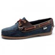 Sebago Ladies  Victory W Fit B52026 Navy/Wine Shoes