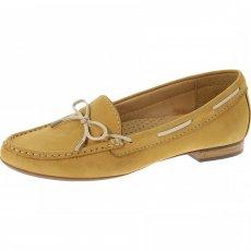 Sebago Leyden Tie B409202 Tan Nubuck Shoes