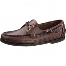 Sebago Mens Schooner B75943 Dd Brown Oiled Waxy Shoes